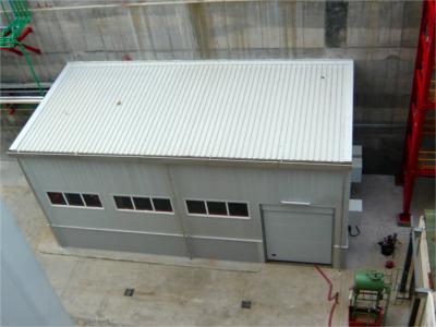 Cabina con ventilación forzada insonorizada 30dB(A)
