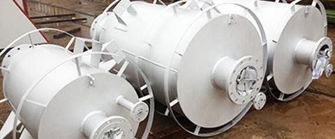 silenciadores descarga a presión de vapor