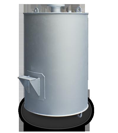 silenciador acústico descarga de vapor a presión 55db(A)