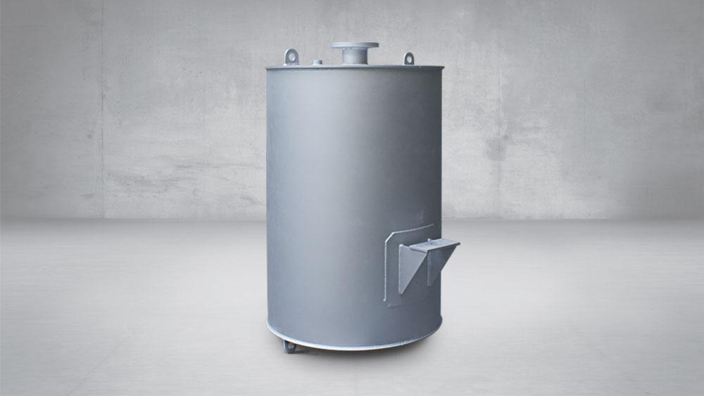 Silenciador descarga purga de vapor a presión