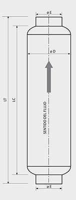 croqis medidas silenciador acústico sm15