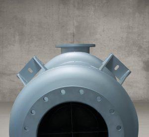 silenciador o atenuador acústico de 15dB(A) de atenuación