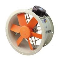 Helicoidales Tubulares HEPT con motor IP65 - Ventilación