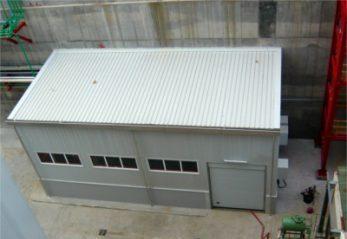 Cerramiento acustico. Insonorización de maquinaria mediantes paneles absorbentes y ventana acústica. Insonorizar pared insonorizar habitación e insonorizar techo mediante una cabina insonorizada