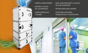 Características purificador de aire. Mejor purificador de aire contra el covid19