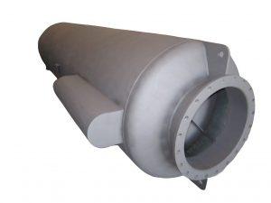 silenciador 30 dB(A) Srd con deposito partículas