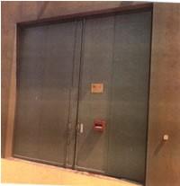 Dobles puertas acústicas