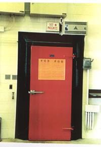 puerta acústica fabricada por silen sistem.