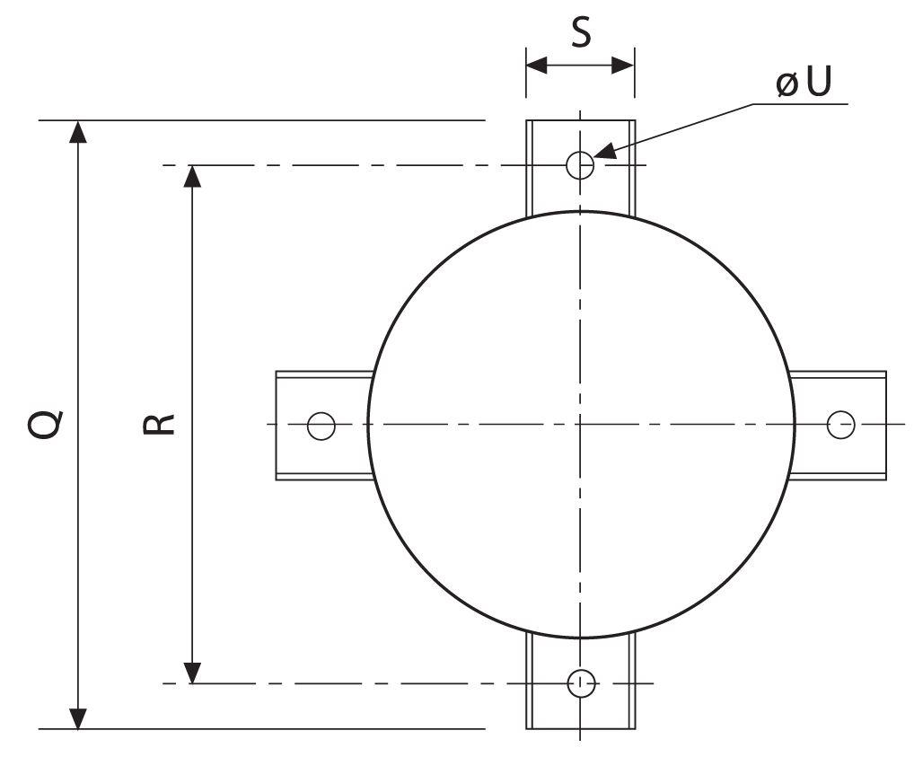 Silenciador acústico SP40-50 y Silenciador acústico SP30
