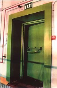 Puerta acustica y cortafuego. Aislamiento puerta acústica