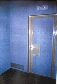 Puerta acústica para vivienda