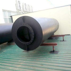 Silenciador silensistem srd para compresores turbo. Silenciador acustico para compresor y silenciador acústico para bombas. Silenciador para compresor y bombas