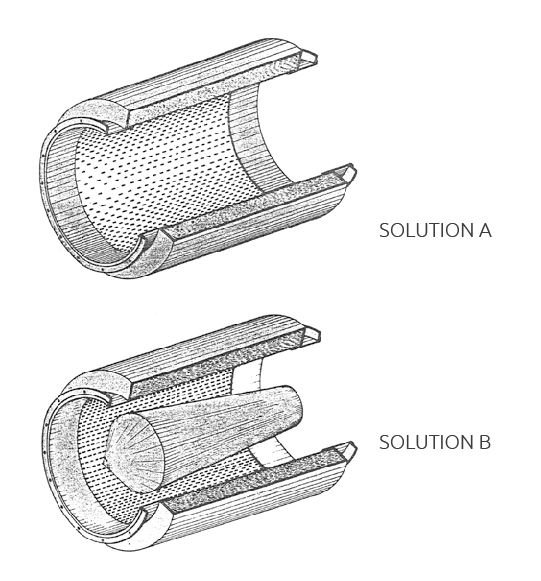 snvc solution a and b - CYLINDRICAL ACOUSTIC SILENCERS (SNVC)