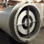 SPECIAL ACOUSTIC SILENCER OF LARGE DIMENSIONS. ESPECIALLY IT IS A VENTILATION SILENCER