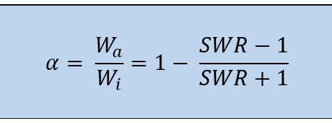 calculo formula coeficiente de absorción material acústico