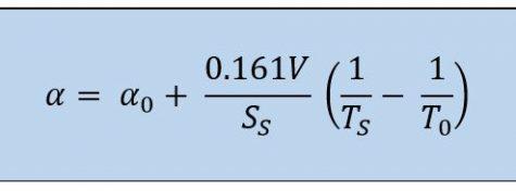 formula tiempo de reverberación alfa Sabine imagen