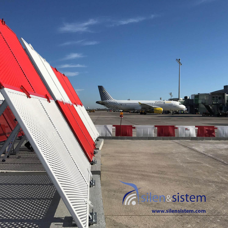 JBD Jet Blast Deflector T4 Barajas Airport Madrid
